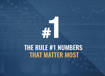The Rule #1 'Big 5 Numbers' Overview